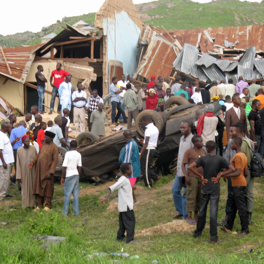 Breaking News — Suicide bomb hits church in Nigeria ...