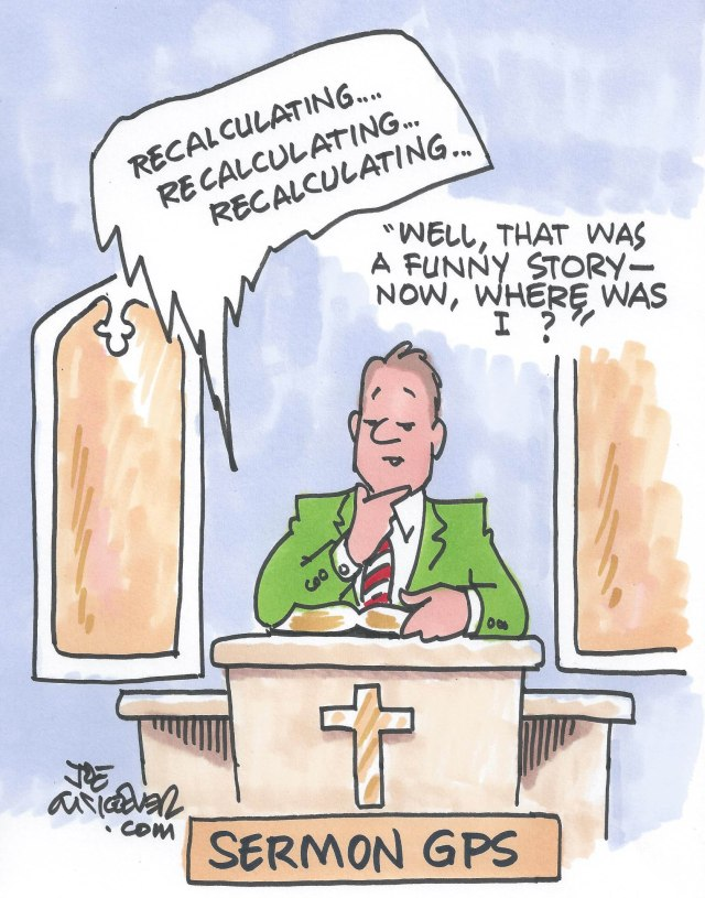 Thanks to Joe McKeever for providing a weekly cartoon for the paper.