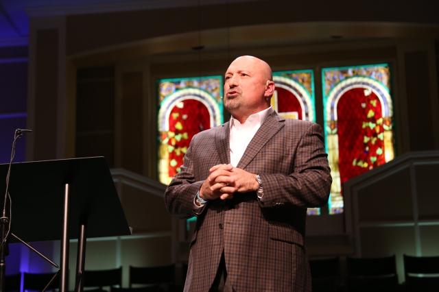 Danny Lanier, pastor of Northcrest Baptist Church, Meridian, Miss.