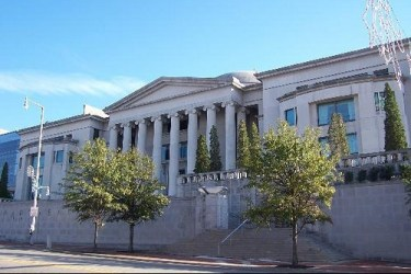 Alabama Judicial Building in Montgomery