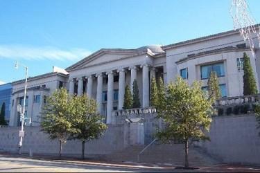 Alabama Judicial Building in Montgomery