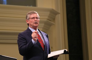 Don Wilton, pastor of First Baptist Church, Spartanburg, South Carolina.