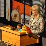 Linda Cooper, national president