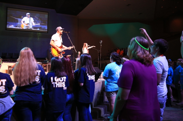 The Museum, Atlanta-based worship band, leads worship at YEC16 on July 22 at FBC Trussville.