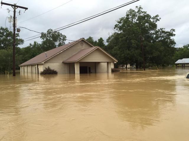 Flooding in Louisiana by Ryann Mitchell