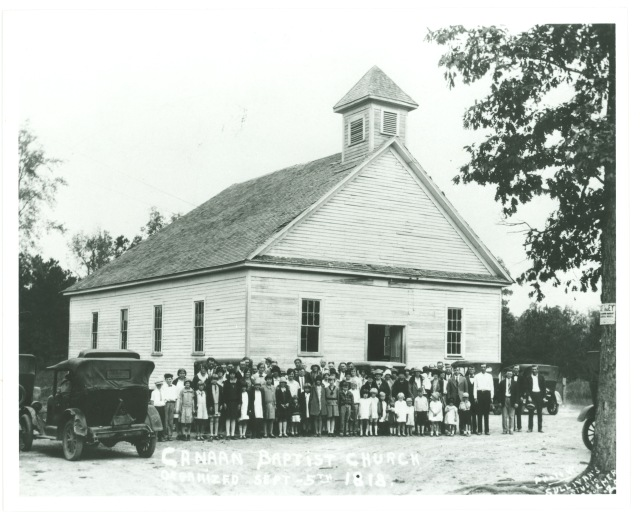 SCAV 960Canaan Baptist Church Organized Sept. 5, 1818